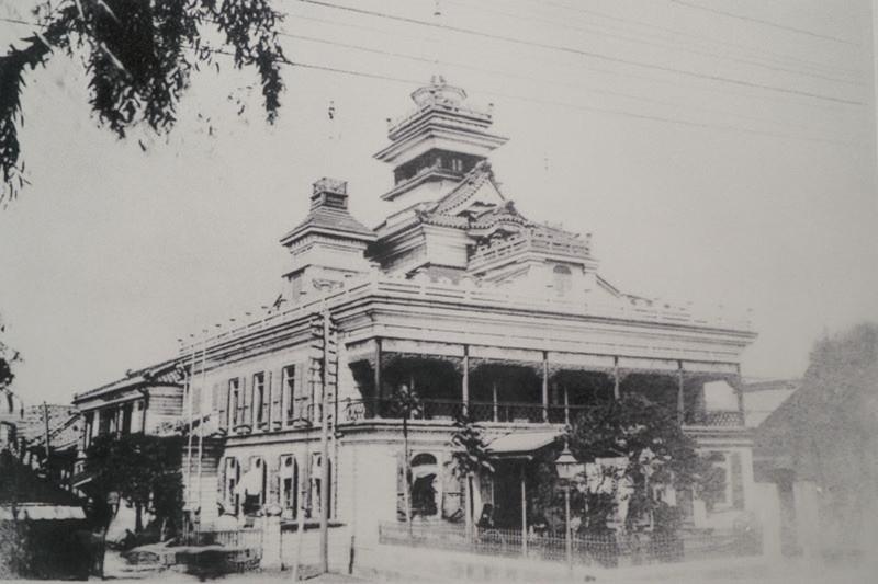 渋沢栄一と第一国立銀行本店(当時)