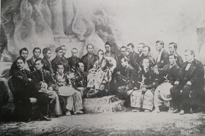 徳川昭武のパリ万博視察団