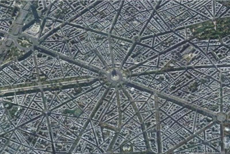 パリ市の交通網